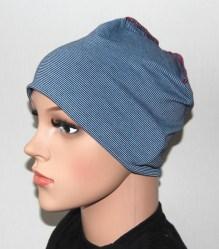 Grauer weicher Schlaf Nachtmütze Unisex Mütze für Haarausfallkrebs Chemo